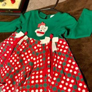 Rare Editions Baby Girl Christmas Dress
